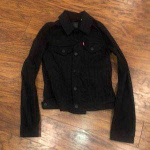Black Levi's Jean Jacket